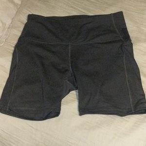 All in motion biker shorts with pocket NWOT
